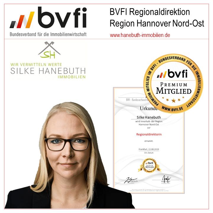 Regionaldirektion BVFI, Bewertung, Verkauf, Vermietung von Häusern, Wohnungen und Kapitalanlagen
