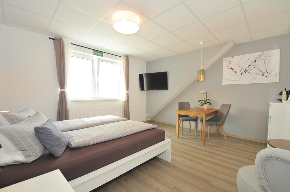Zimmer 3 im Obergeschoss rechts